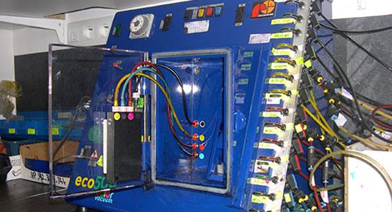 Machine de recharge de cartouches d'encre